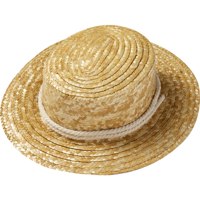 Canotier Hat, Straw