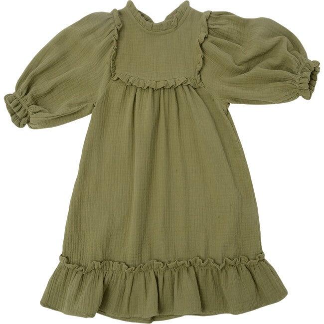 Adriana Dress, Sage Gauze - Dresses - 1