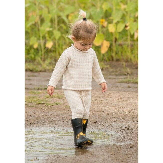 Edu Knit Pants, Cream Cotton