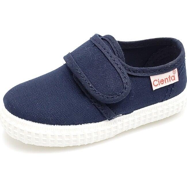 Velcro Slip On, Navy
