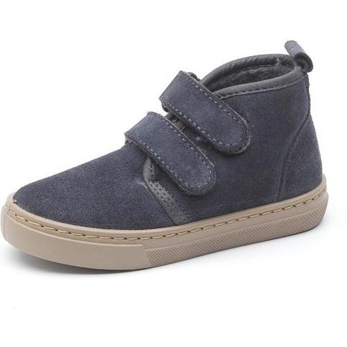 Casual Boot, Navy Suede