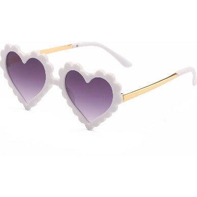 Heartbreaker Sunglasses, White