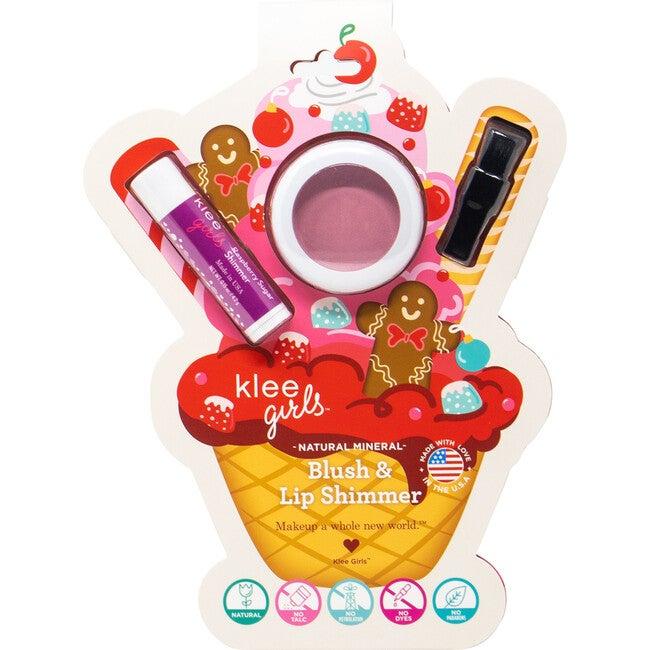 Girls Gingerbread Dream Holiday Blush & Lip Shimmer