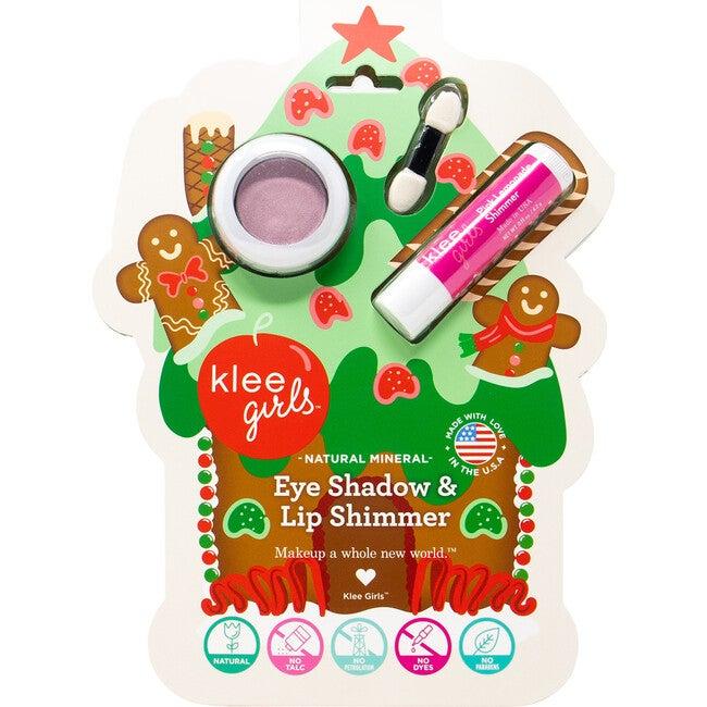 Girls Cinnamon Shimmer Holiday Eye Shadow & Lip Shimmer