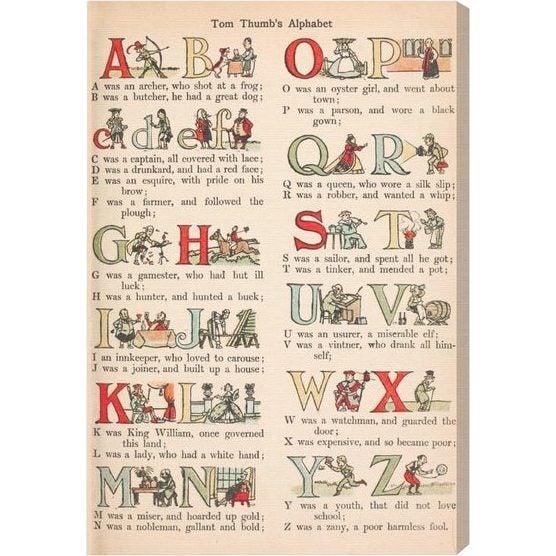 Tom Thumbs Alphabet