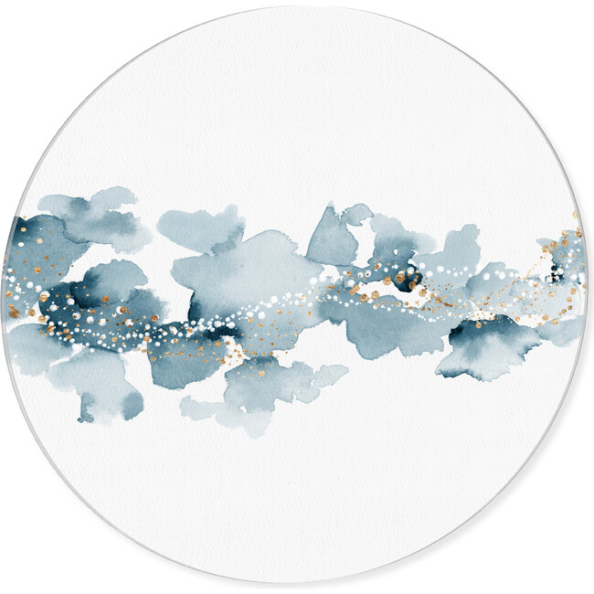 Blue Cloud Sky, Round