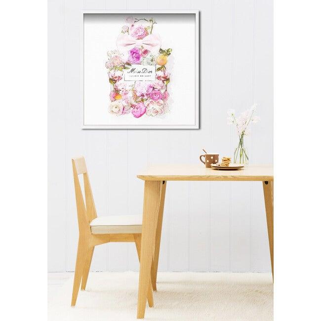 Parfum Bouquet Print, Framed