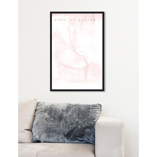 Plan Of Action Whiteboard, Rose Marble