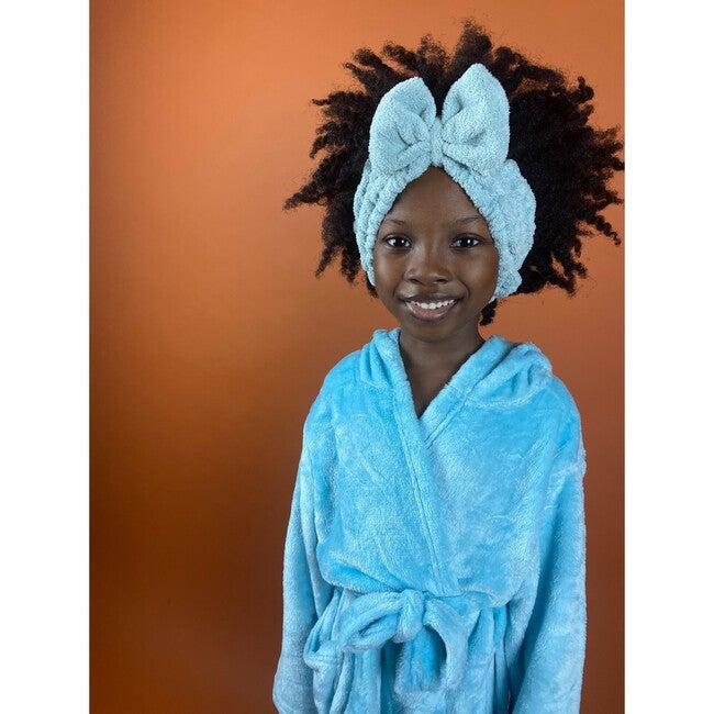 Spa headband, Blue