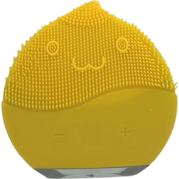 Silicon Facial Cleanser, Yellow