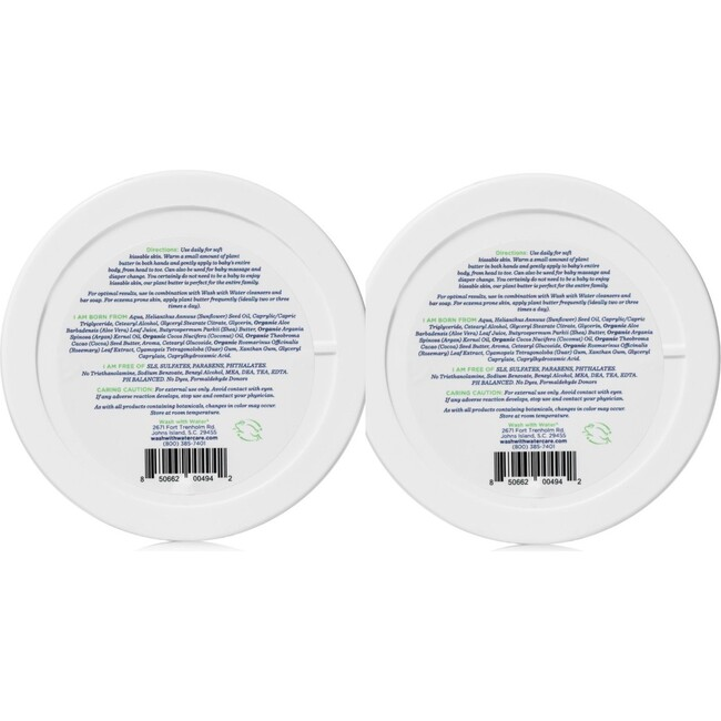 Sweetpea & Me Plant Body Butter Duo