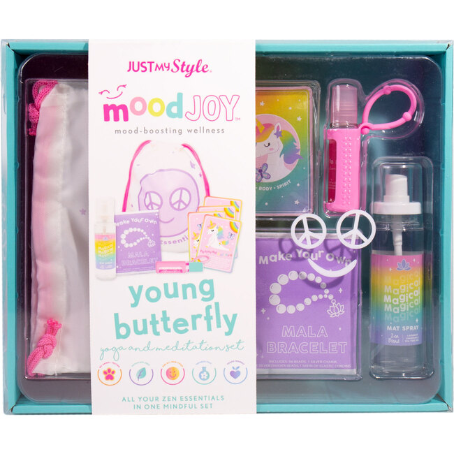 Young Butterfly Yoga & Meditation Set