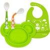 Kushies Silicone Feeding  4PC Set, Citrus - Food Storage - 1 - thumbnail
