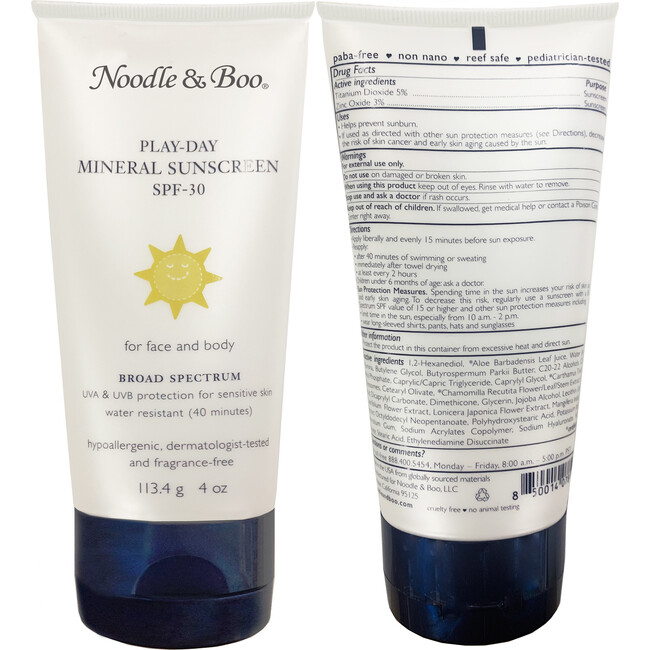 Play-Day Mineral Sunscreen SPF 30, 2 Pack