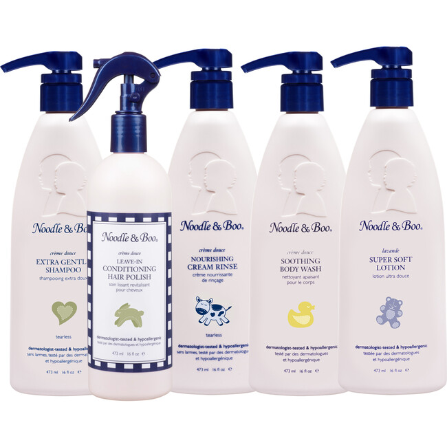 Toddler Hair & Body Care Deluxe Set