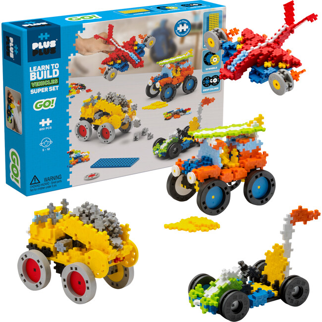 Learn to Build, Vehicles Super Set