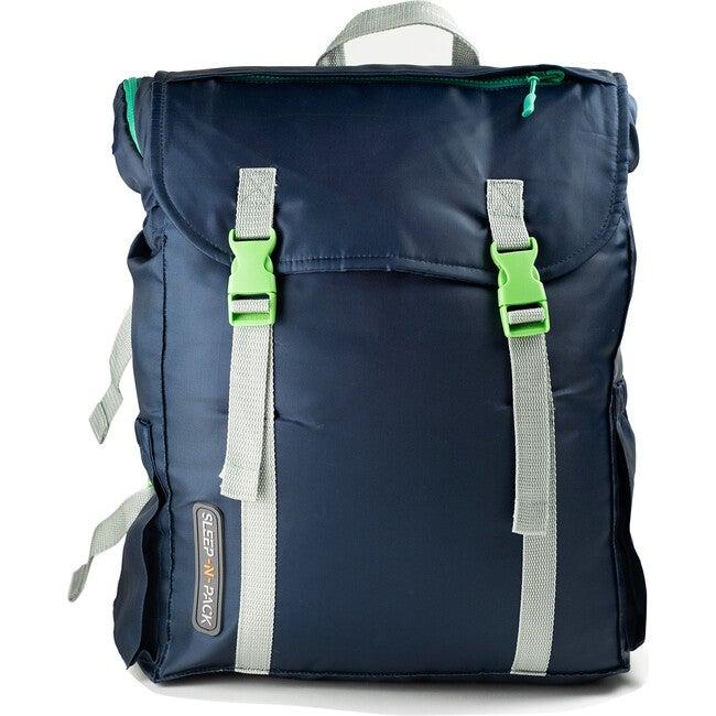 Sleep 'N' Pack Big Kids Sleeping Bag, Navy/Grey