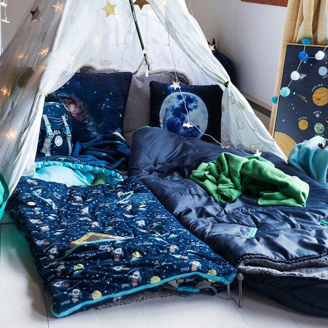 Sleep 'N' Pack Littles Sleeping Bag, Space