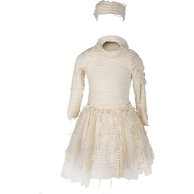 Mummy Costume with Skirt, Beige