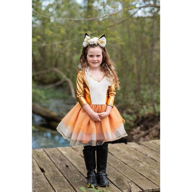 Woodland Fox Dress with Headpiece