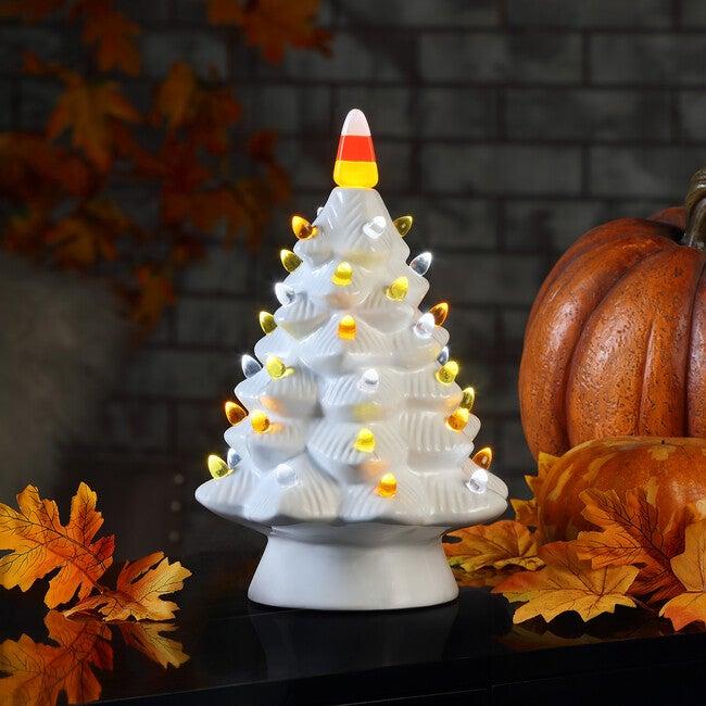 Halloween Tree , White