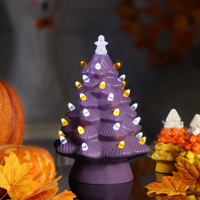 Halloween Tree , Purple