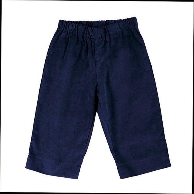 Luke Baby Pant, Navy Corduroy