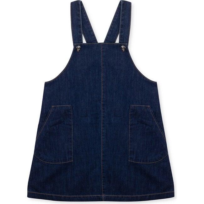 Pinafore Dress Denim Pepper, Blue