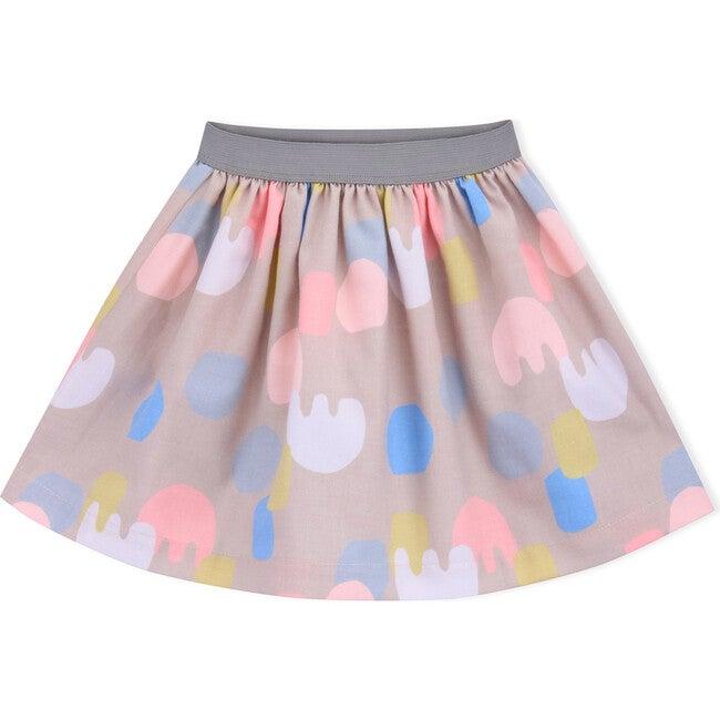Skirt Cotton Collage, Multi