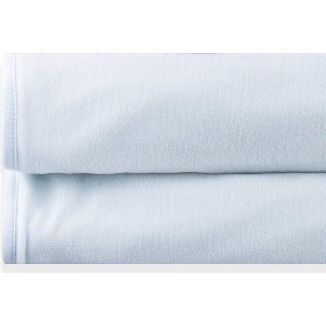 Blanket Newborn Cotton Velvet Liz, Blue