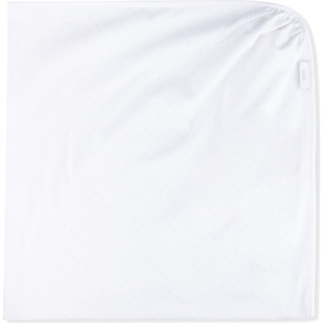 Blanket Newborn Organic Cotton Seurat, White