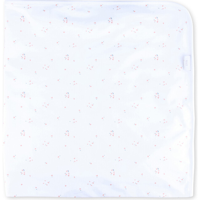 Newborn Blanket Organic Cotton Lori, White