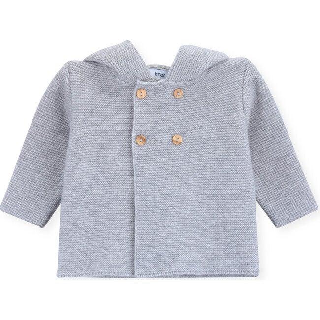 Cardigan Newborn Dodie, Grey