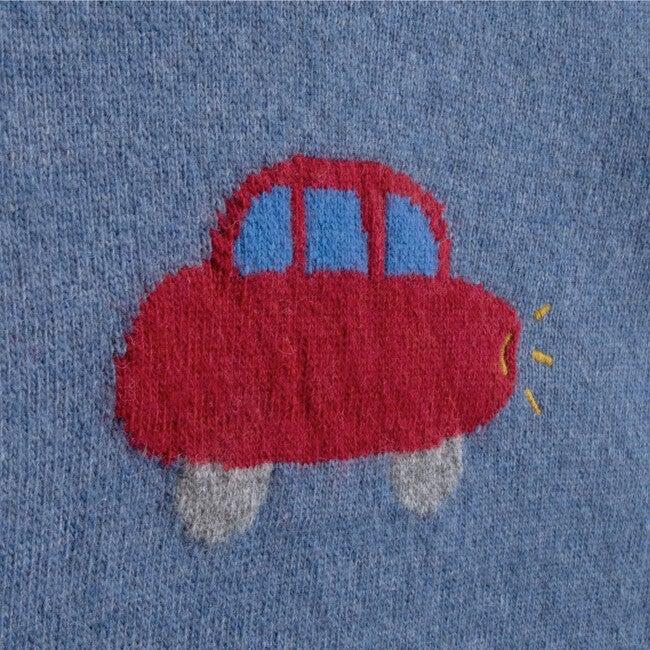 Sweater Baby Car, Blue