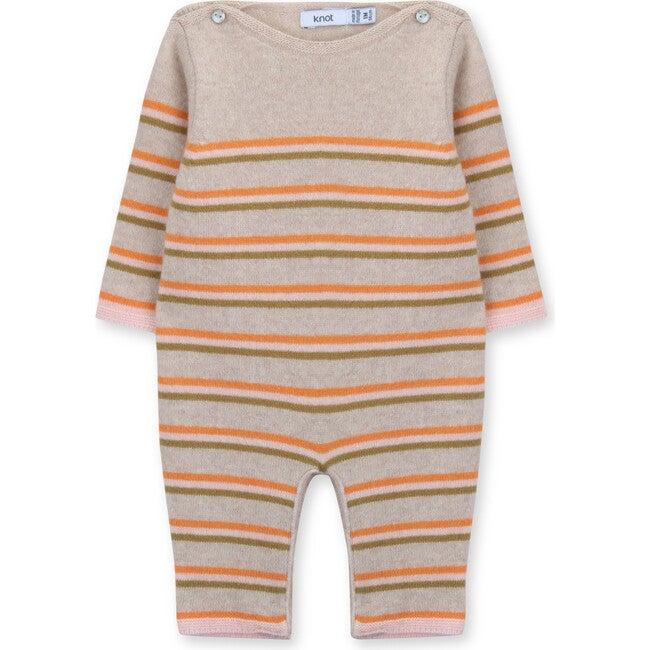 Newborn Knitted Jumpsuit Jaden, Stripes