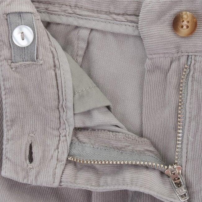 Shorts Corduroy Fairy, Grey