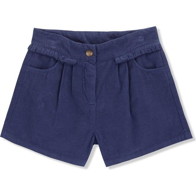 Shorts Corduroy Fairy, Blue