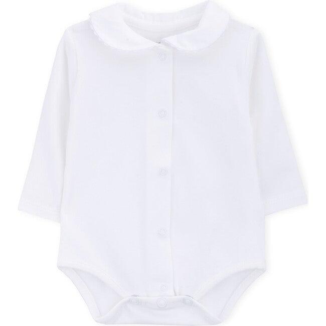 Long Sleeve Body Newborn Heleni, White