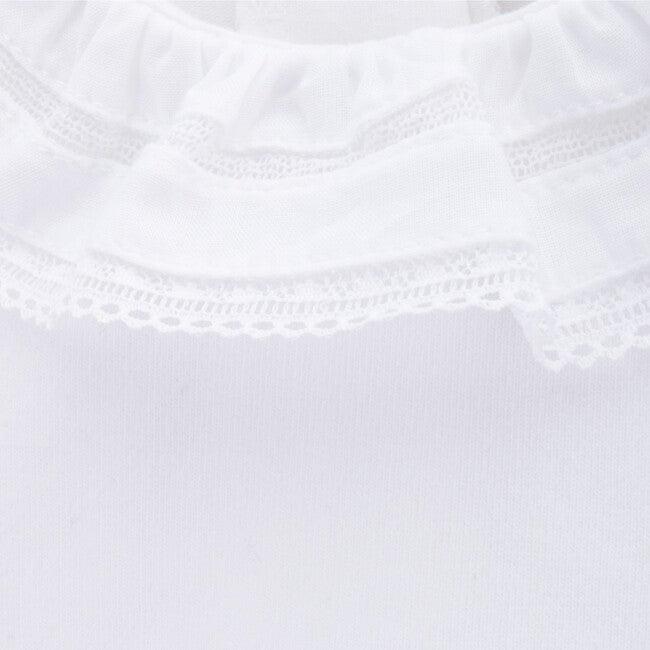 Long Sleeve Body Newborn Lance, White