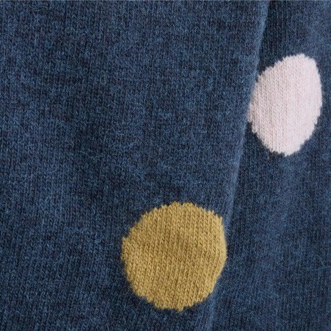 Sweater Polka Dots, Navy
