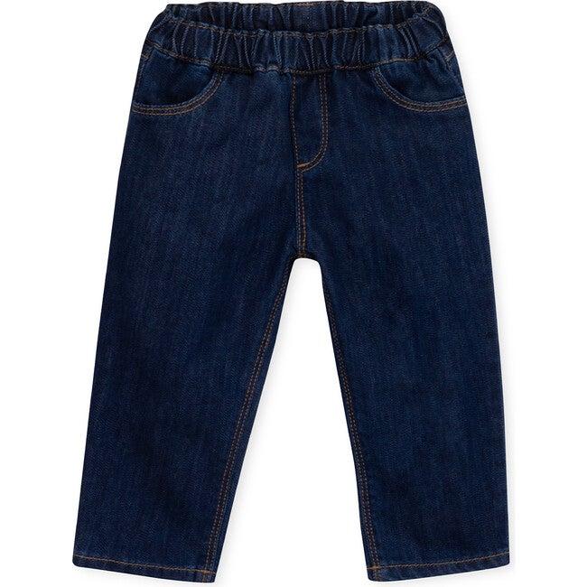 Trousers Baby Denim Dylan, Navy