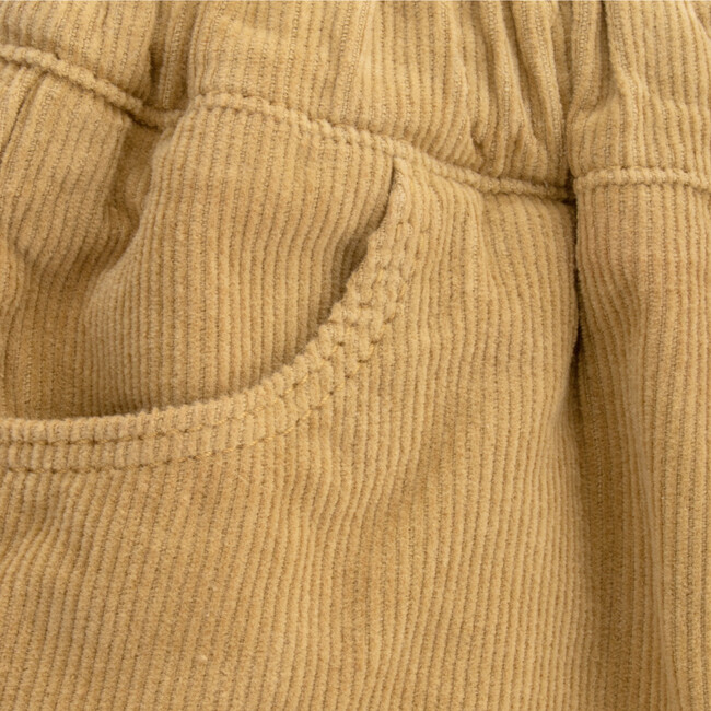 Trousers Baby Corduroy Dylan, Yellow