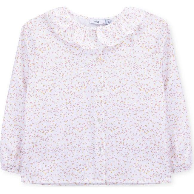 Blouse Organic Cotton Soft Flowers, Multi