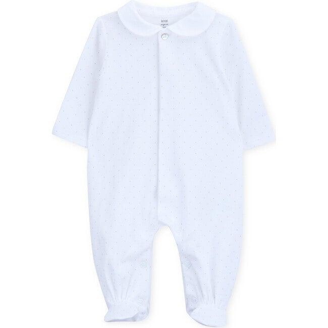 Babygrow Newborn Organic Cotton Seurat, White