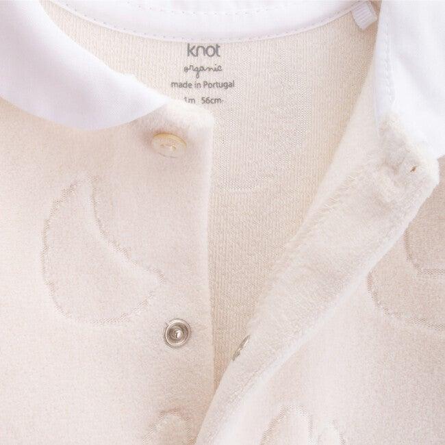 Babygrow Newborn Organic Cotton Learning, Cream