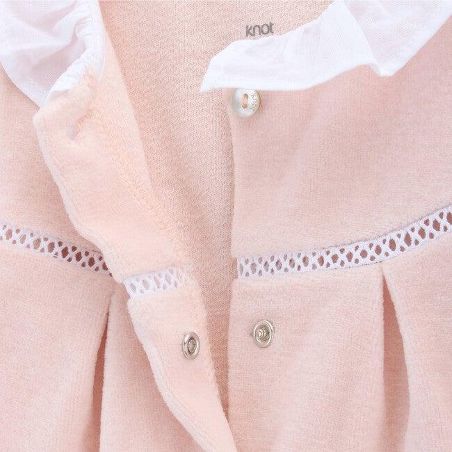 Babygrow Newborn Velvet Dusk, Pink