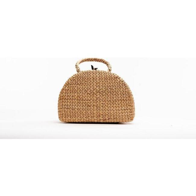 Handwoven Picnic Tote, Small - Bags - 1
