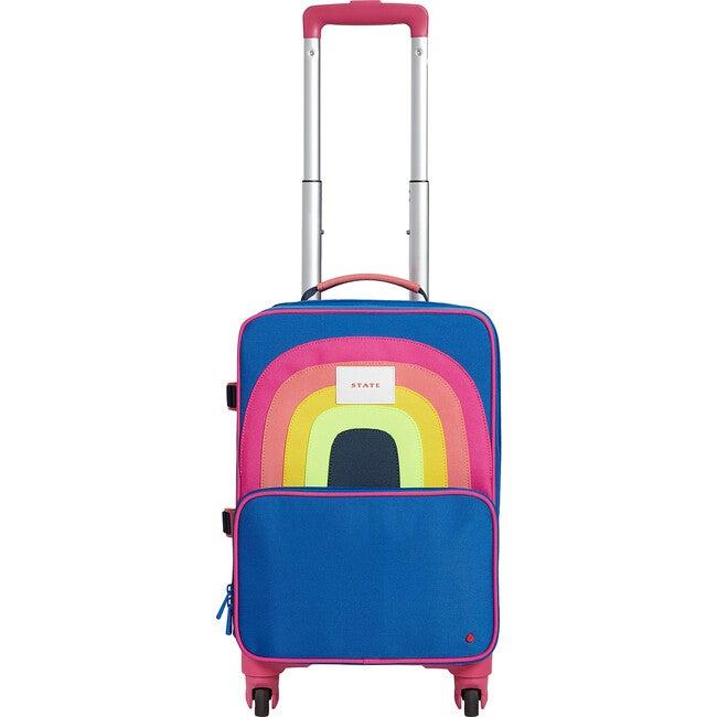 Mini Logan Suitcase, Rainbow - Bags - 1