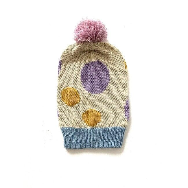 Polka Dot Hat, Blue