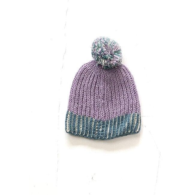 Sprinkle Hat, Lav/Teal/Ivory